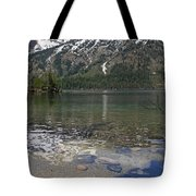 Lake Jenny Grand Tetons Tote Bag