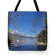 Lake Jenny Tote Bag