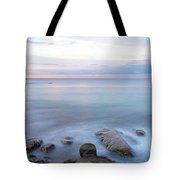 Lake La Jolla Pano Tote Bag