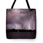 Lake Lightning 2 Tote Bag