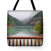 Lake Louise At Dawn Tote Bag