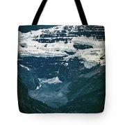 Lake Louise At Distance Tote Bag