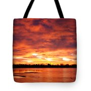Lake Loveland Sunrise Tote Bag