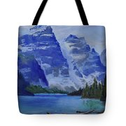 Lake Marine Tote Bag