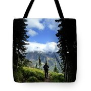 Lake Mcdonald From Mt Brown - Glacier National Park Tote Bag