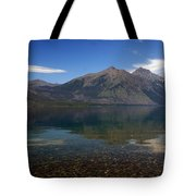 Lake Mcdonald Reflection Glacier National Park 2 Tote Bag