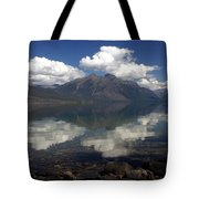 Lake Mcdonald Reflection Glacier National Park Tote Bag