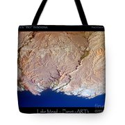 Lake Mead - Planet Art Tote Bag
