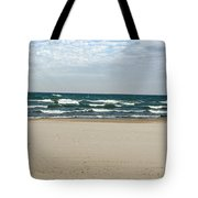 Lake Michigan 10.20.15 Tote Bag