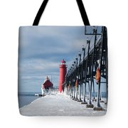 Lake Michigan Ice Tote Bag