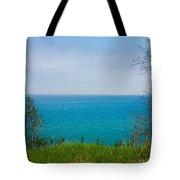Lake Michigan In May Tote Bag