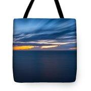 Lake Michigan Long Exposure  Tote Bag