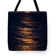 Lake Michigan Moonrise Tote Bag