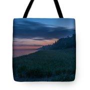Lake Michigan Morning 1 Tote Bag