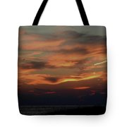 Lake Michigan Sunset Photograph Tote Bag