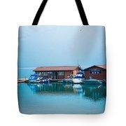Lake Minnewanka Tote Bag