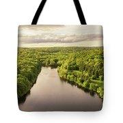 Lake Mohegan, Fairfield, Connecticut Tote Bag