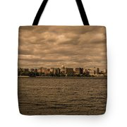 Lake Monona Skyline Tote Bag