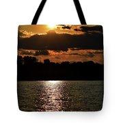Lake Murray Golden Hour Tote Bag