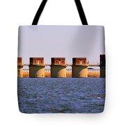 Lake Murray S C 2 Tote Bag