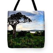 Lake Ndutu Shores Tote Bag