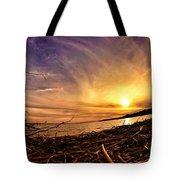 Lake Nipissing Sunset Callander Bay Tote Bag