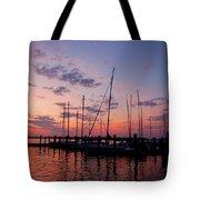 Lake Norman Sunset Tote Bag