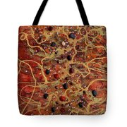 Lake Of Fire Tote Bag