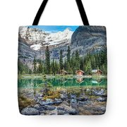 Lake O'hara At Dusk Tote Bag