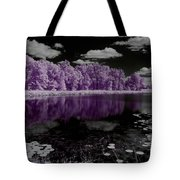 Lake On Another Planet Tote Bag