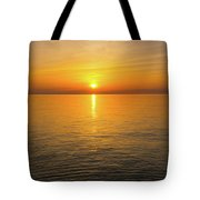 Lake Ontario Sunset Tote Bag
