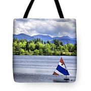 Lake Placid Tote Bag