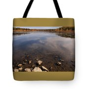 Lake Pomme De Terre In October Tote Bag