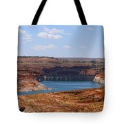 Lake Powell And Glen Canyon Dam Tote Bag