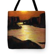 Lake Powell At Sunset Tote Bag
