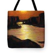 Lake Powell At Sunset Tote Bag