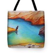 Lake Powell Birds Tote Bag