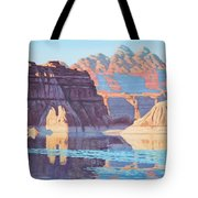 Lake Powell From Shore  Tote Bag