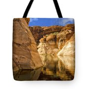 Lake Powell Stillness Tote Bag