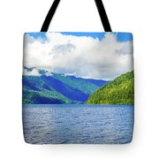 Lake Quinault Washington Tote Bag