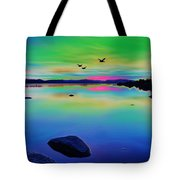 Lake Reflections 2 Tote Bag