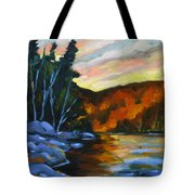 Lake Reflections Tote Bag