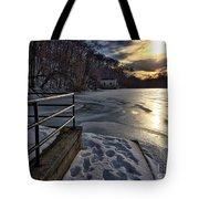 Lake Roland Sunset Tote Bag