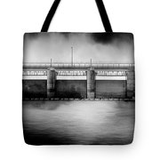 Lake Shelbyville Dam Tote Bag