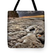 Lake Superior Northern Michigan  Tote Bag