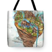 Lake Superior Watershed In Early Spring Tote Bag