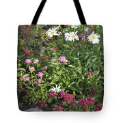 Lake Tahoe Garden Tote Bag