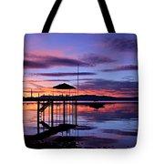 Lake Tahoe Rising Tote Bag
