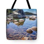 Lake Tahoe Rocks Tote Bag