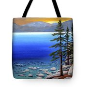 Lake Tahoe Sunrise Tote Bag
